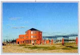 2000 год. Готовый офис и начало строительства первой производственной очереди