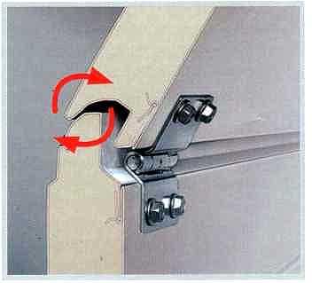 Маленький зазор между панелями с защитой от защемления пальцев