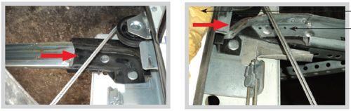 Применение непрочного пластика для изгибов направляющих приводит к его быстрому износу и поломке