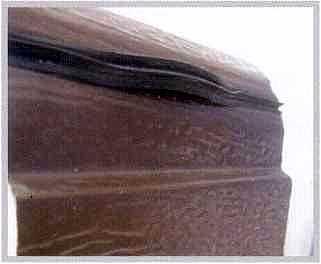 Выталкивание уплотнителя верхней панелью в стыке с защитой от защемления пальцев